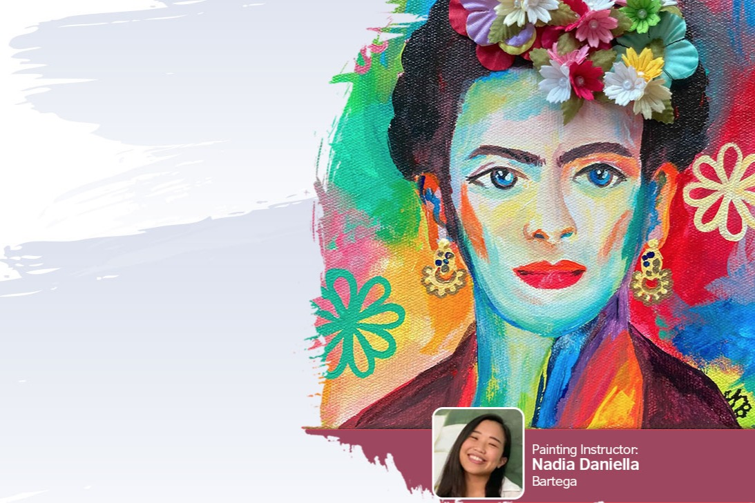 Painting on My Mind: Self-portrait of Frida Kahlo