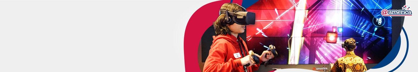 @america Virtual Reality Experience (VRX)